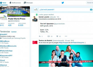 Padel World Press se une al Club de los 8.000 en Twitter