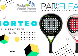 Sorteo Wilson, organizado por Paddelea y Padel World Press