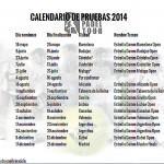 Calendario WPT 2014