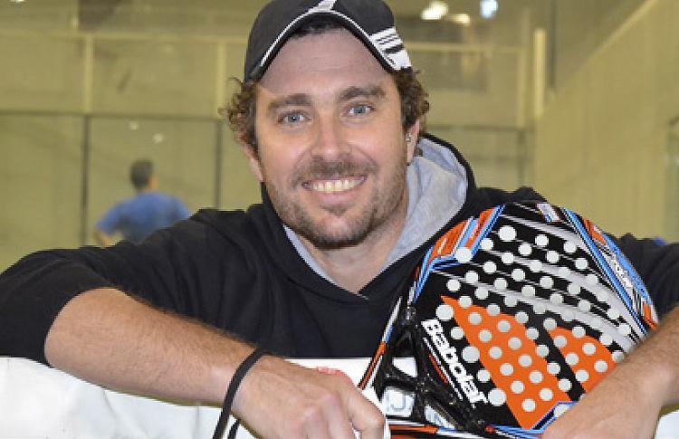Jordi Muñoz, jugador de Babolat
