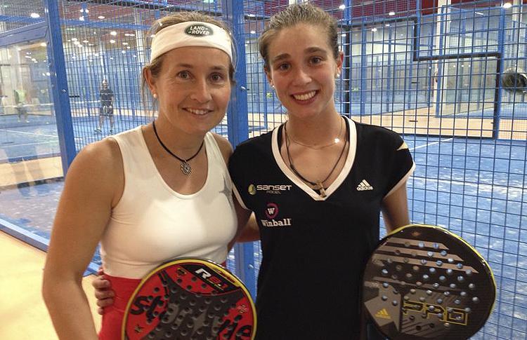 Carolina Navarro y Marta Ortega