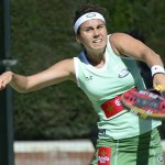 Cecilia Reiter, en el Estrella Damm Barcelona Open