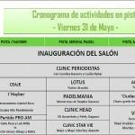 Cronograma Salón Internacional del Pádel