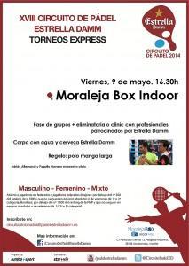 Cartel Torneo Express Estrella Damm