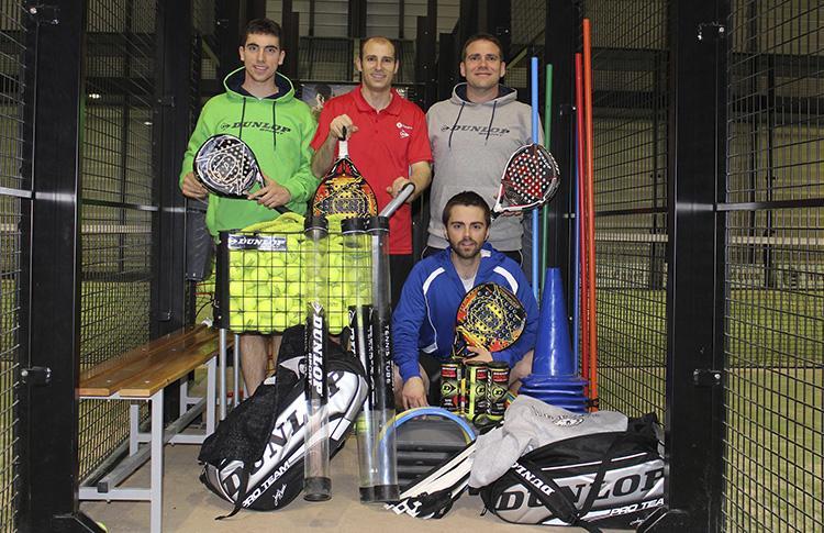 Dunlop, nella Federazione Navarra di Paddle