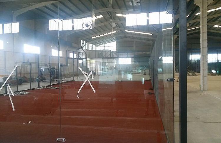 Obras en el Club Get Indoor Pádel