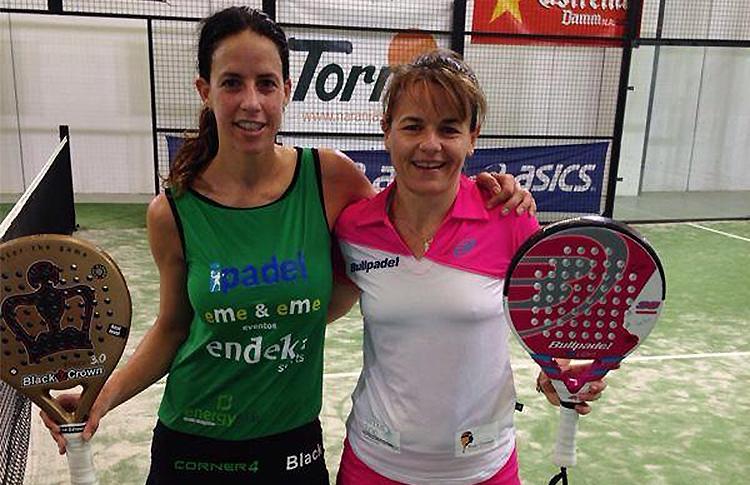 Marta Marrero e Cata Tenorio