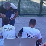 Paquito Navarro y Willy Lahoz, en el Campeonato de España