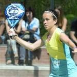 Patty Llaguno, en el Estrella Damm Barcelona Open