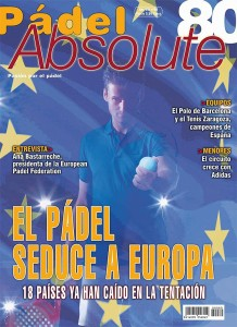 Portada de la revista PádelAbsolute