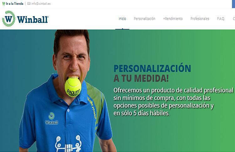 Nueva web de Winball