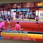 Antena 3, en el Salón del Pádel