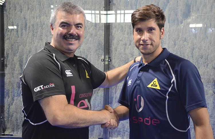Adrián Caviglia y Nacho Gadea