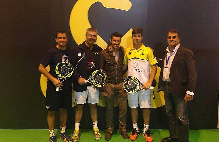 Adrián Caviglia, Nacho Gadea et Juan Cruz Belluati