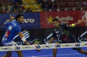 Sanyo Gutiérrez y Maxi Sánchez, en el Estrella Damm Córdoba Open