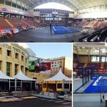 Montaje Estrella Damm Córdoba Open