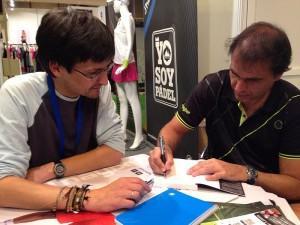 Padel World Press con Nito Brea
