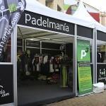 Stand de Padelmania en World Pádel Tour