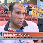 Seba Nerone, en el Estrella Damm Córdoba Open