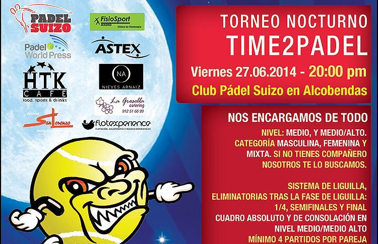 Torneo Nocturno de Time2Pádel