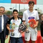Uri Botello y Javier Concepción, ganadores en La Finca