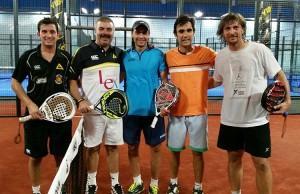 Juani Mieres y Pablo Lima, en GET Indoor Pádel
