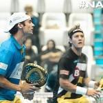 Gonzalo Rubio y Andoni Bardasco, en el NAS14 Dubai