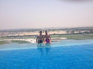Gonzalo Rubio en el NAS14 Dubai