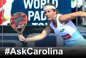Ask Carolina Navarro - World Pádel Tour