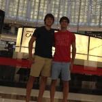 Andoni Bardasco y Gonzalo Rubio, en Dubai