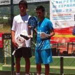 Álvaro Cepero-Tuti Redondo, ganadores del Cpto España Sub'23