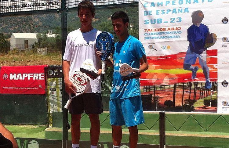 Álvaro Cepero-Tuti Redondo, vainqueur de Cpto España Sub'23