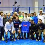 Gonzalo Rubio, Andoni Bardasco y todos los participantes en el NAS14 Dubai