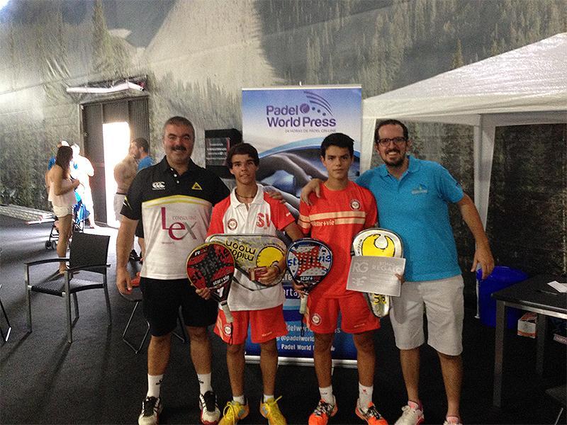 Ganadores del Torneo A Tope de Padel - GET Indoor Pádel