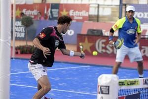 Juan Martín Díaz-Fernando Belasteguin, en el Estrella Damm Marbella Open