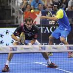 Juan Martín Díaz y Fernando Belasteguín, en el Estrella Damm Castellón Open