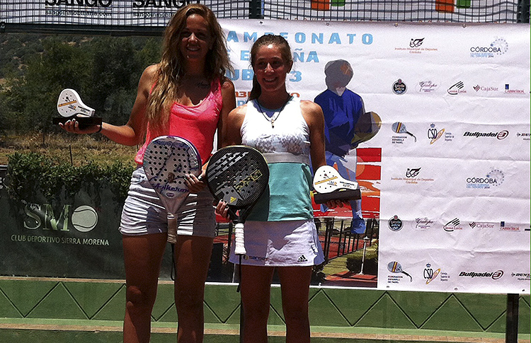 Martita Ortega y Alba Galán, Campeonas de España Sub'23
