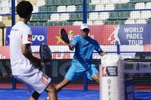 Matías Marina-Ramiro Moyano, en el Estrella Damm Marbella Open