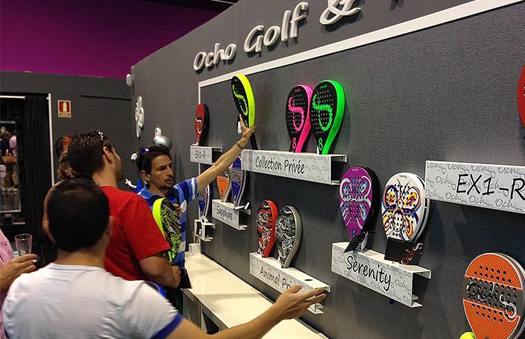 Pre-Apertura del ShowRoom de OchoPádel