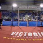 Paquito Navarro y Tito Allemandi, en el Cervezas Victoria Málaga Open