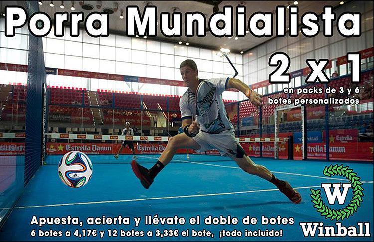 Winball y su porra para el Mundial de Brasil 2014