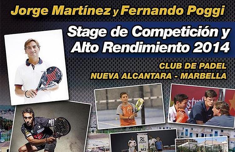 High Performance Stage de Jorge Martínez
