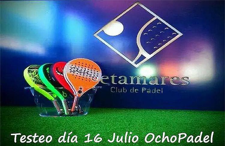 Jornada de Tests de OchoPádel en el Club Retamares