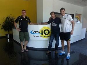 Vibor-A llega a un acuerdo con el Club Vita 10 Pádel Indoor