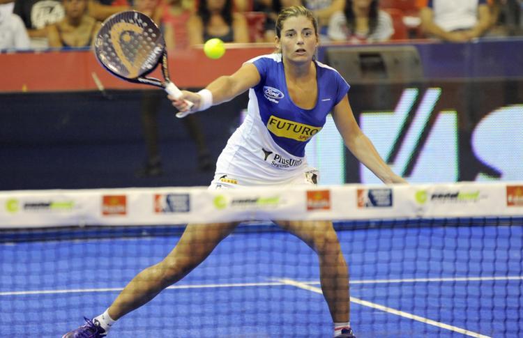Alejandra Salazar, presso Estrella Damm La Nucía Open
