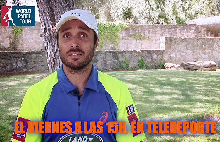 Fernando Belasteguín, en Teledeporte
