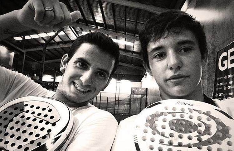 Juan Cruz Belluati e Javier Redondo (Tuti), nuova coppia nel World Paddle Tour Circuit