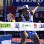 Carolina Navarro, en el Estrella Damm Marbella Open
