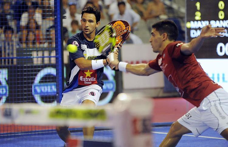 Sanyo Gutierrez y Maxi Sanchez, en el Cervezas Victoria Malaga Open