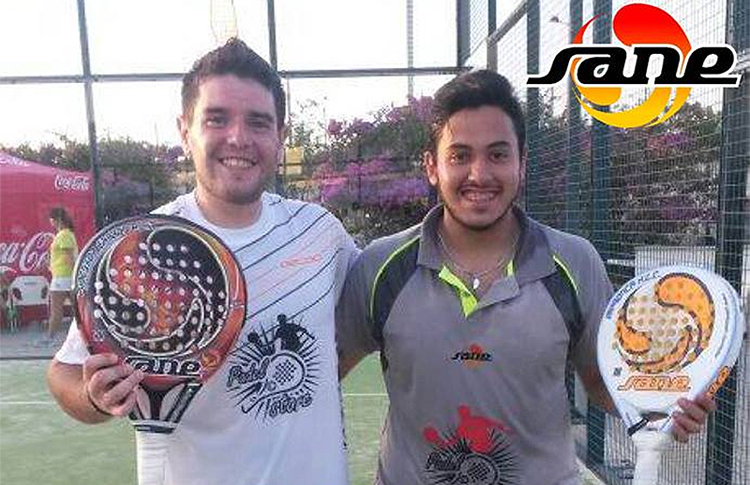 Maxi Cejas-Elías Estrella, jóvenes jugadores de SANE, tienen un paso muy destacado por el Circuito World Pádel Tour